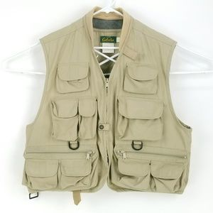 Cabelas Outdoor Hunting Fishing Vest Large PA06 * for sale